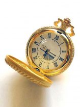 Pandora Hearts Accessories Shiny Golden Cosplay PocketWatch