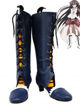 Pandora Hearts Cosplay Alice Blue Lace Up Cosplay Boots