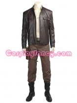 Star Wars 8 Poe Dameron Cosplay Costume