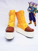Dragon Ball Cosplay Shoes Trunks's Yellow Platform Shoes