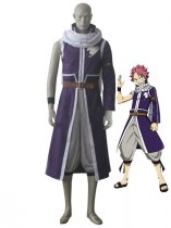 Fairy Tail Dragon Slayer Natsu Dragneel Cosplay Costume