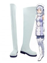 Gundam Build Fighters Aila Jyrkiainen White Cosplay Boots