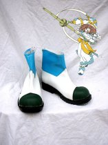 Hack//G.U. Cosplay Mireille Leather Cosplay Boots