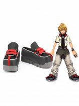Kingdom Hearts 358/2 Days Roxas Anime Cosplay Boots
