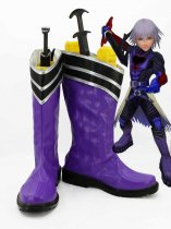 Kingdom Hearts Black Riku Cosplay Boots