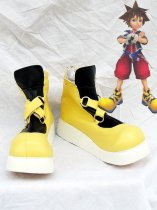 Kingdom Hearts Yellow Sora Cosplay Boots