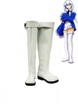 Pandora Hearts Cosplay Shoes Echo Cosplay White Boots