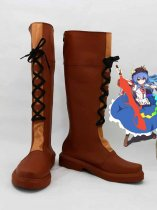Scarlet Weather Rhapsody Hinanawi Tenshi Cosplay Boots