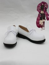 Wonderful Wonder World Boris White Cosplay Shoes