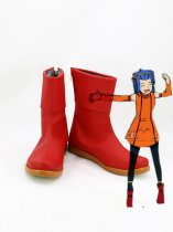 Fairy Tail Cosplay Levy McGarden Red Cosplay Boots