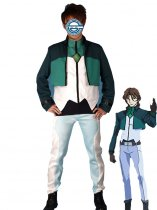 Gundam 00 Cosplay Lockon Stratos Cosplay Costume