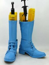 JOJO Caesar Anthonio Zeppeli Blue Cosplay Boots