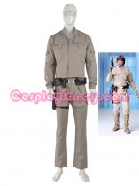 Star Wars Deluxe Luke Skywalker Adult Cosplay Costume
