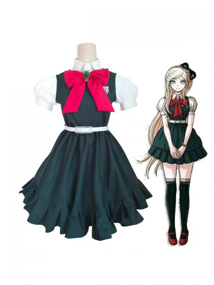 Super Dangan Ronpa 2 Sonia Nevermind Cosplay Costume/Dress