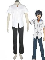 Toaru Majutsu no Index Cosplay Kamijou Toma Cosplay Costume