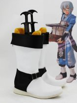 Touhou Project Cosplay Rinnosuke Morichika White Cosplay Boots
