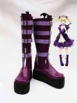 Unlight GrandGuignol Sheri Purple Cosplay Boots