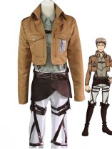 Attack on Titan Jean Kirstein Cosplay Costume Scouting Legion Uniform