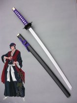 BLEACH Cosplay Kouga Kuchiki Wood Cosplay Sword