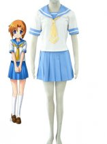 Higurashi no Naku Koro ni Cosplay Rena Ryuugu School Uniform Cosplay Costume