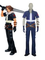 Kingdom Hearts Squall Leonhart Cosplay Costume