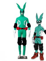 My Hero Academy Izuku Midoriya Green Fighting Uniform Cosplay Costume