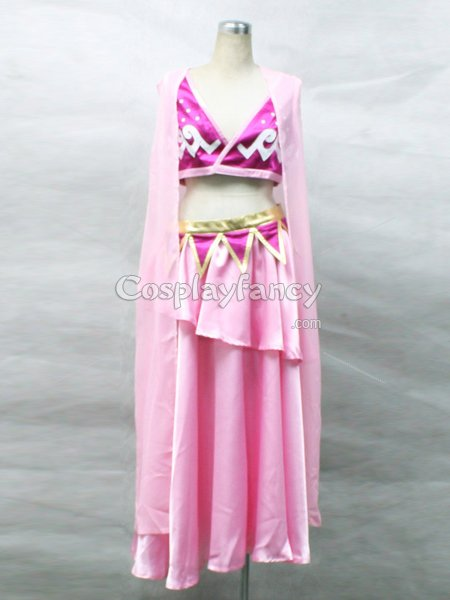 One piece Nami Pink Cosplay Costume/Lolita Dress