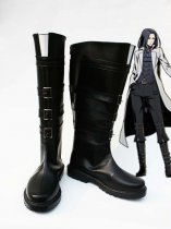 Unlight Doctor Walken Black Cosplay Boots