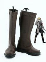 Unlight StrayDog Izac Brown Cosplay Boots